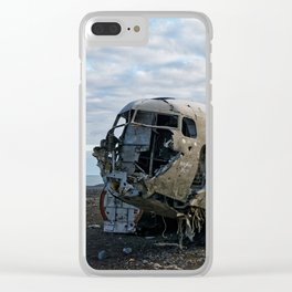 Never Moving Clear iPhone Case