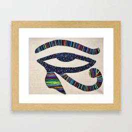 The Eye of Horus Framed Art Print