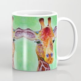 Colorful Giraffe Coffee Mug