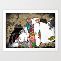 #Inked 2 Art Print