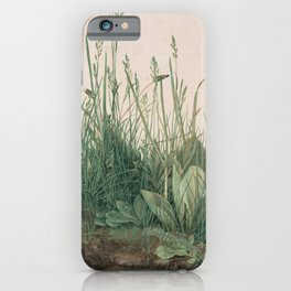 Albrecht Durer - The Large Piece of Turf iPhone Case