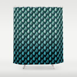 ocean of tears Shower Curtain