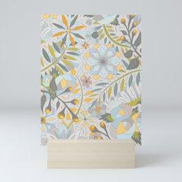 Faded Summer Blossoms Mini Art Print