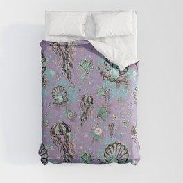 Audrey Mermaid Pattern 11 Comforters