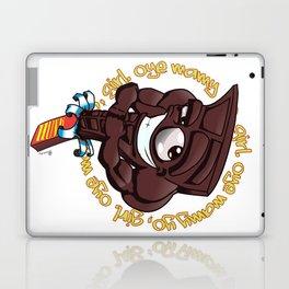 Brown Hunk Chocolate  Laptop & iPad Skin