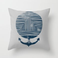 Deep End Throw Pillow