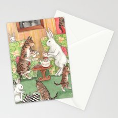 Tea with the Tabbies Stationery Cards