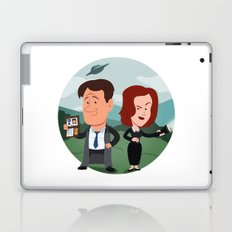 Mulder and Scully Laptop & iPad Skin