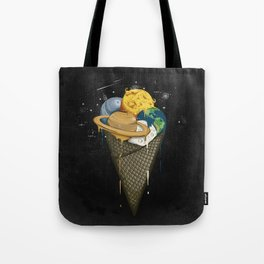 Galactic Ice Cream Tote Bag
