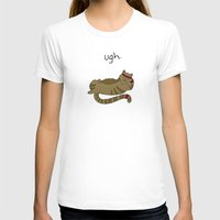 caleb troy T-shirts featuring Crunch Cat by Caleb Croy by UCO Design