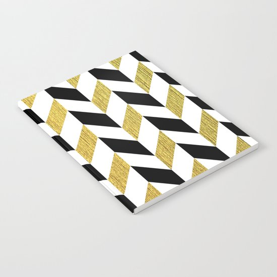 Black and Gold Notebook