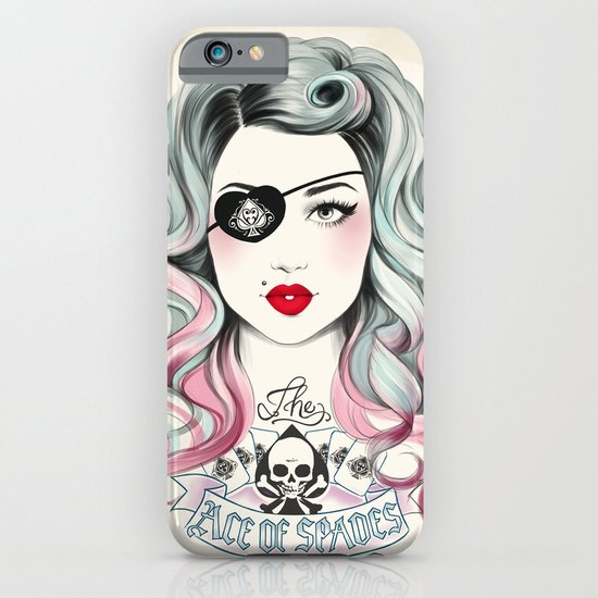 Ace of Spades iPhone & iPod Case
