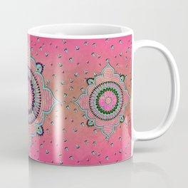 India Pink Mandala Pattern Coffee Mug