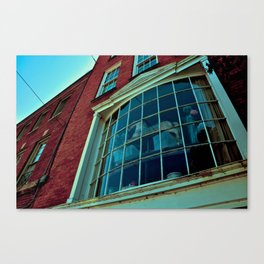 Window Through The Past Canvas Print