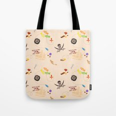 Pirates of the Candibbean  Tote Bag