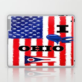 I Love Ohio Laptop & iPad Skin
