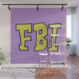 FBI Wall Mural