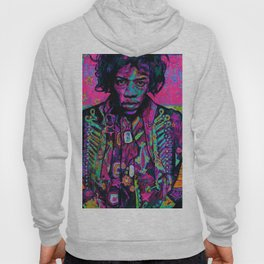 rock and roll in pink Hoody