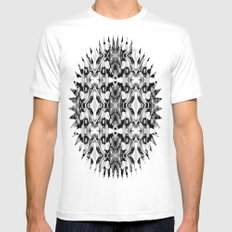 Eye of Beholder Mens Fitted Tee SMALL White