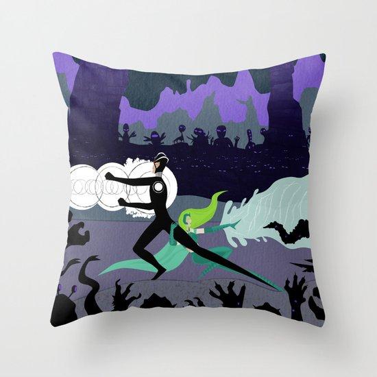 Power Couple Throw Pillow