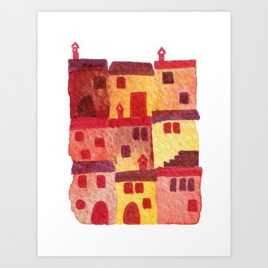 Tuscan Holiday Art Print