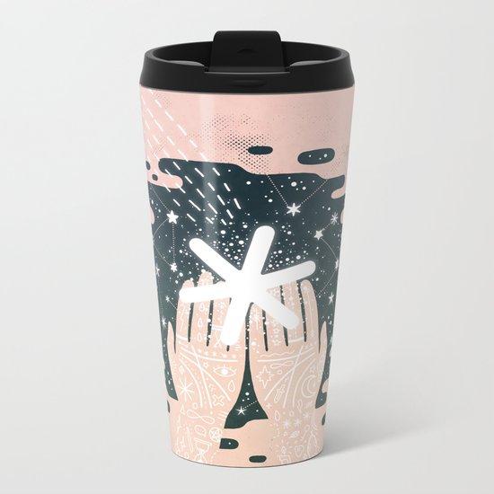 *Catching Stars* Metal Travel Mug