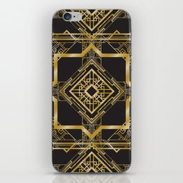 Art Deco Geometric Pattern iPhone Skin