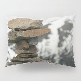 Inuksuk at the Peak Pillow Sham