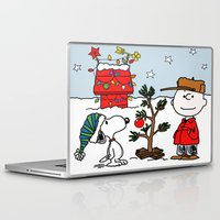 snoopy Laptop & iPad Skins featuring Snoopy 01 by tanduksapi