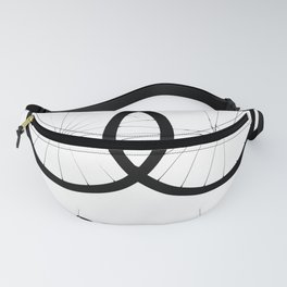 Love two wheels Fanny Pack