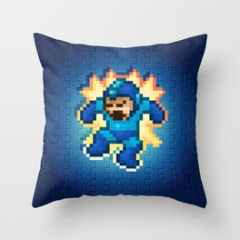 Megaman Damage Throw Pillow