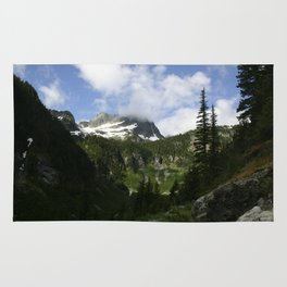 Olympic Mountains Rug