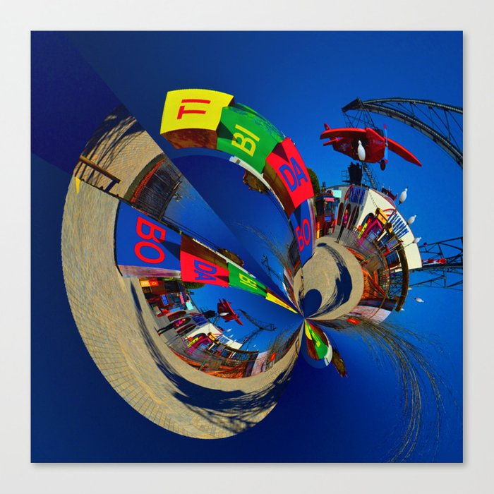 all the fun of the fair Canvas Print