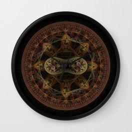 Incognito by Knightengale Wall Clock