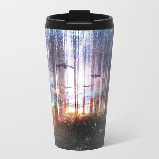 Absinthe forest Metal Travel Mug