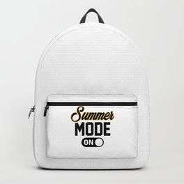 Summer Mode ON bw Backpack