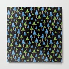 """""""Mushroom forest 2"""" Metal Print"""