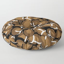 Football Season Floor Pillow