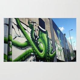 """Green Octopus"" Rug"
