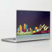 sydney Laptop & iPad Skins featuring Sydney by Felita Go
