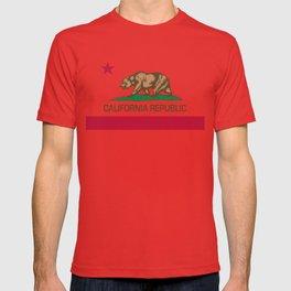 California Republic Flag - Bear Flag T-shirt