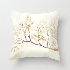 Soft Spring Whisper Throw Pillow