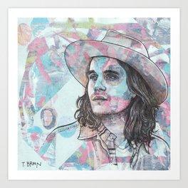 John Mayer - I Will Be Found Art Print