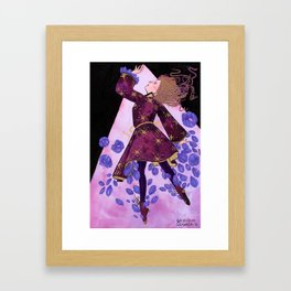 Flower Witch Framed Art Print