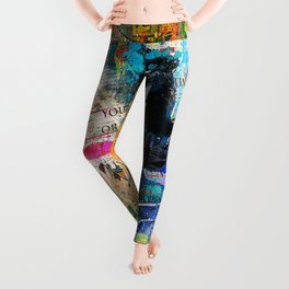 Artistic OI  - Albert Einstein II Leggings