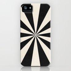 black starburst Slim Case iPhone SE