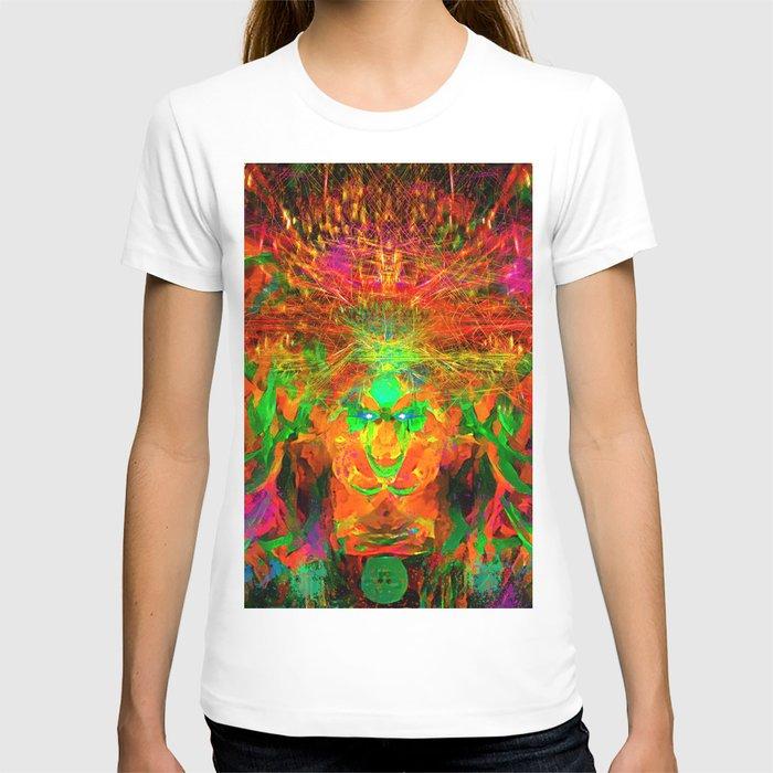 The Flying Shaman (Tribal Zest) T-shirt
