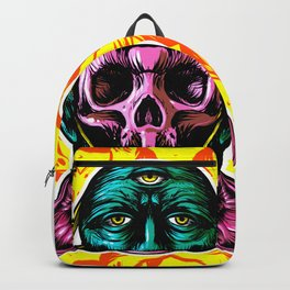 Face helmet Color Backpack