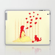 Bubbly Hearts Laptop & iPad Skin