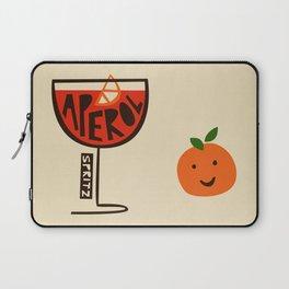 Aperol Spritz Cocktail Print Laptop Sleeve